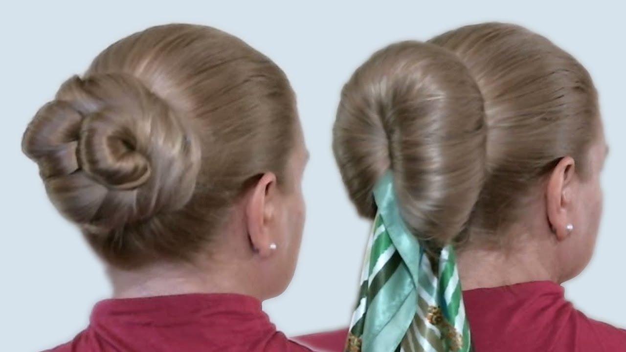 Кукиш из волос как сделать