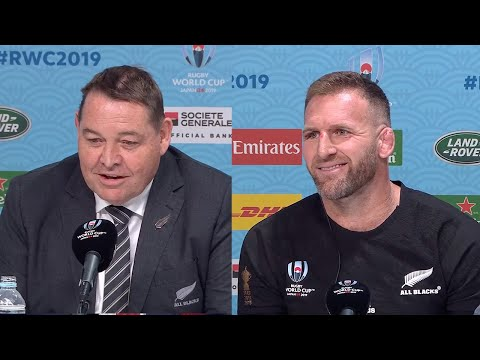Steve Hansen and Kieran Read reflective but in high spirits after finishing 3rd at Rugby World Cup