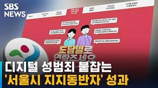 디지털 성범죄 붙잡는 '서울시 지지동반자' 성과 / SBS
