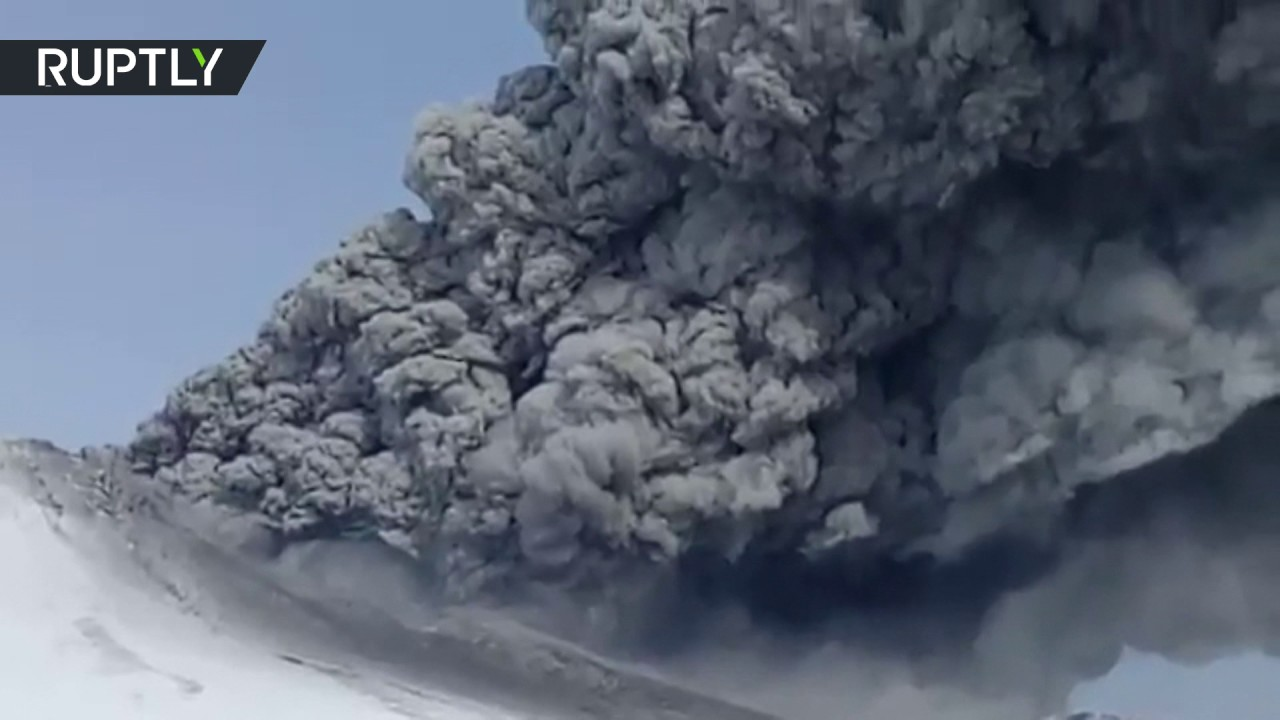 Volcano spews huge ash clouds in Russian Kamchatka in surprise eruption after 250 years of silence