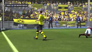 FIFA 14 PC Demo- HD Gameplay Dortmund Vs Milan