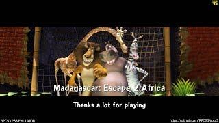 RPCS3 PS3 Emulator - Madagascar 2 Escape to Africa Ingame! OGL (431a1ef9)