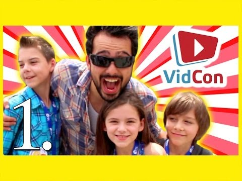 KITTIESMAMA AT VIDCON 2014 DAY 1! | WHO IS JIMMY FALLON?