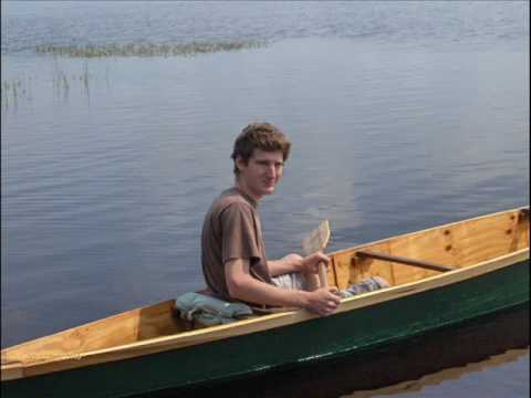 Homemade Plywood Canoe 'River Drifter