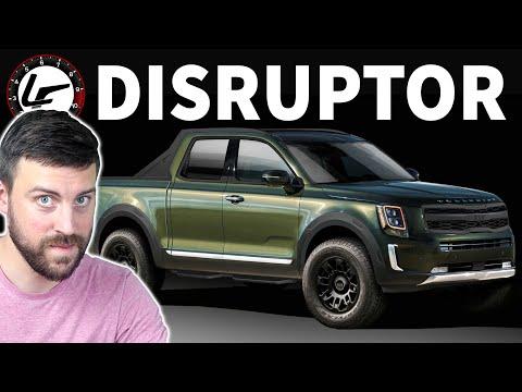 KIA\'s new truck will DISRUPT the pickup market...