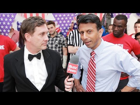 Push-Up Contest With Governor Bobby Jindal