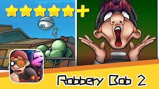 Robbery Bob 2 Seagull Bay Level 15-16 Green Screen Bob Walkthrough New Game Plus Recommend index fiv