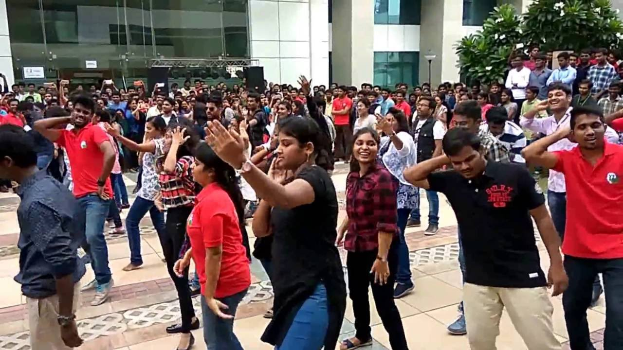 Hcl Flash Mob Manesar Youtube