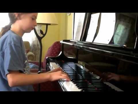 100 Years piano by RACHEL (10 yrs)