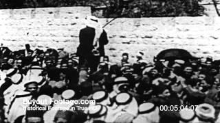 HD Stock Footage Holy Land Palestine Reel 8