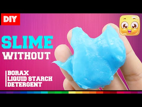Diy slime without borax or liquid starch or detergent youtube diy slime without borax or liquid starch or detergent ccuart Gallery