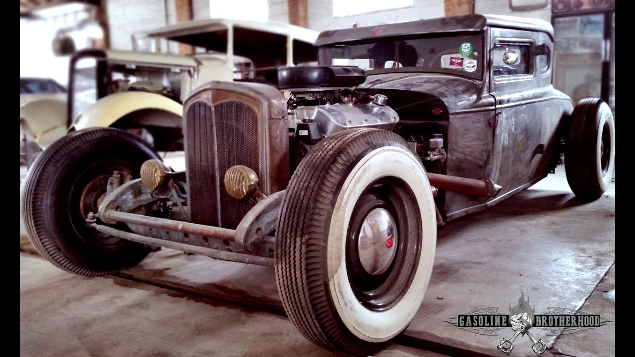 OLD SCHOOL HOT ROD FORD 29 - GASOLINE BROTHERHOOD - YouTube
