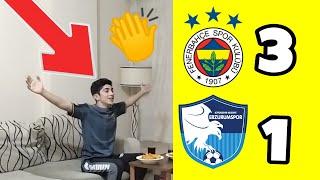 FANATİK FENERLİLER FENERBAHÇE ERZURUMSPOR MAÇINI İZLİYOR [Fenerbahçe 3-1 Erzurumspor]