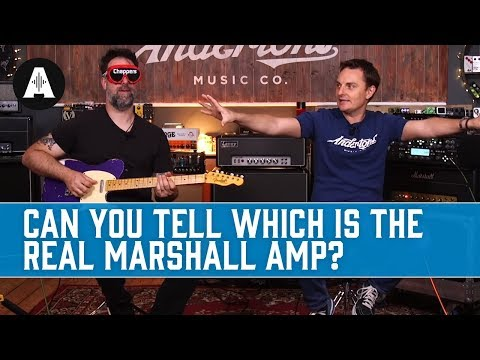 Can you tell which is the REAL Marshall amp?