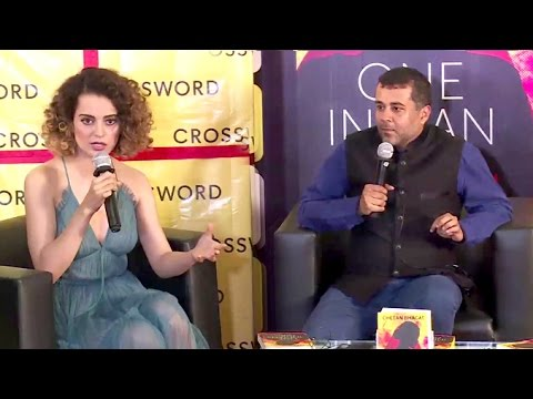 UNCUT Kangana Ranaut's CONTROVERSIAL launch Of Chetan Bhagat's New Book 'One Indian Girl'