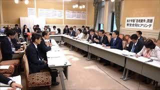 加計学園「首相案件」問題野党合同ヒアリング 2018年4月17日 thumbnail