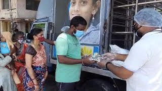 Covid-19: NGO members distribute food packets to needy people in Visakhapatnam