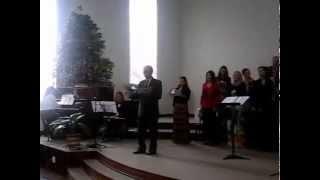 Der Friedensfürst  Weihnachtsgottesdienst in Witmarsum Brasiien    25.12.2014