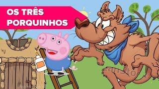 ➽ Peppa Pig Os 3 Três Porquinhos e o Lobo Mau História Infantil Música Clássica Mozart Para Bebês 2