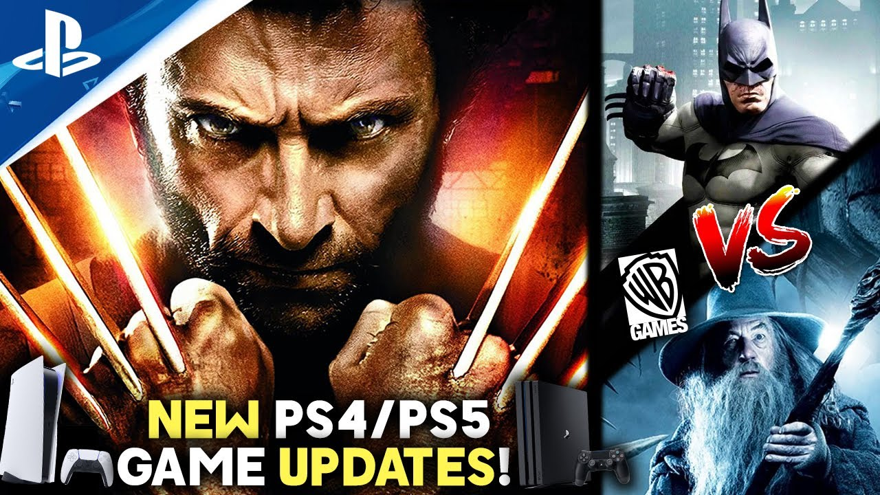 Download NEW PS4/PS5 Game UPDATES! Marvel's Wolverine - Batman & Gandalf +More in a Smash-inspired Fighter?!
