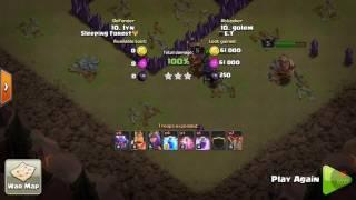 atak smokami na wojnie klanowej clash of clans