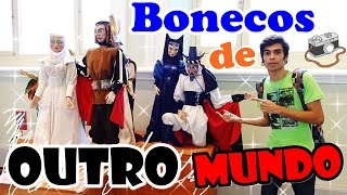 Bonecos - Exposição Gira Mundo - Caixa Cultural Recife Antigo