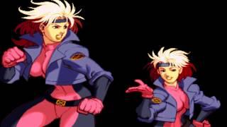X-Men vs. Street Fighter - Theme of Rogue (Sega Genesis Remix)