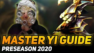 PRESEASON 2020 MASTER YI GUIDE - COWSEP