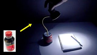 캔커피로 만든 미니 LED 램프 조명, DIY
