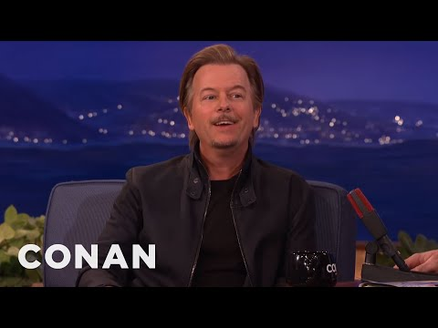David Spade Remembers Chris Farley  - CONAN on TBS