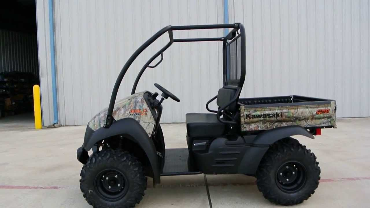 2014 kawasaki mule 610 xc camo for sale $8,499 with top and hitch
