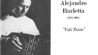 Alejandro Barletta - Valse Triste (bandoneon Solo)