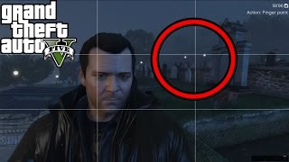 GTA 5 - Vinewood Cemetery Ghost FOUND