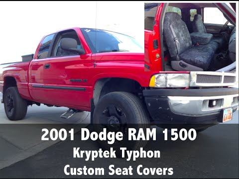 2001 Dodge Ram 1500 Kryptek Typhon Camo Seat Covers Youtube