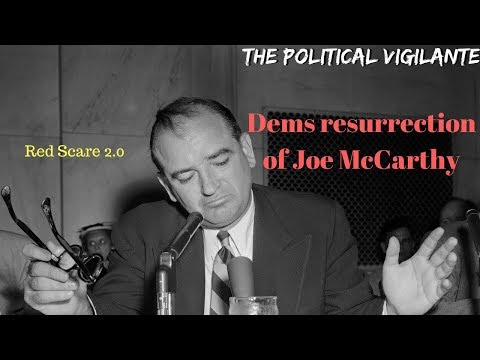 Dems Red Scare Has History Of Racism— The Political Vigilante