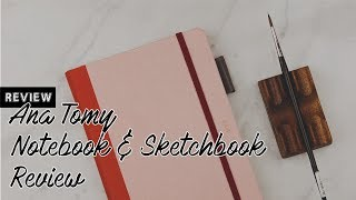 Unboxing & Review | ana tomy Notebook + Sketchbook