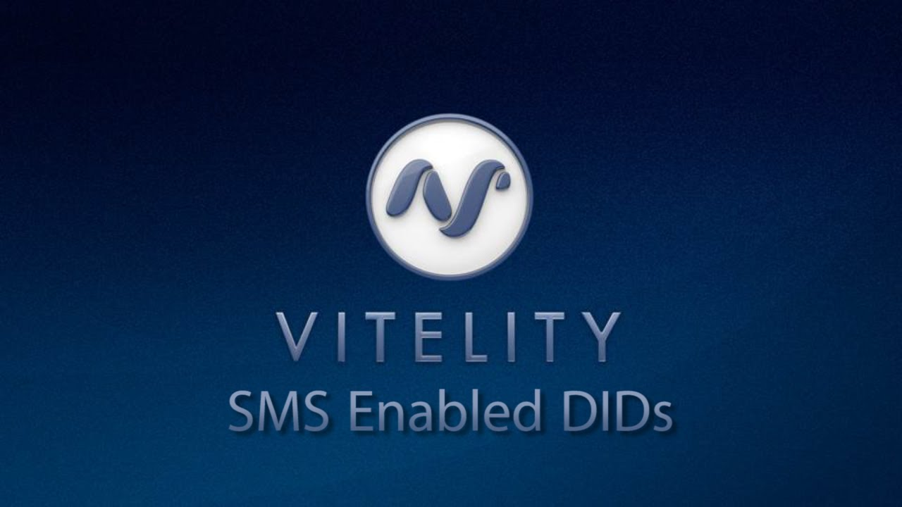 Vitelity 101 SMS Enabled DIDs
