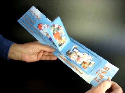 Flickercards - Dynamic Promotional Products made with Paper Engineering