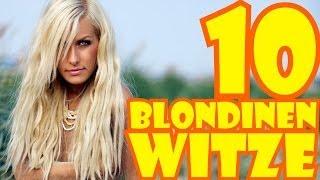10 BLONDINEN WITZE - Muhaha!