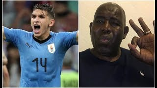 Uruguay 2 Portugal 1| Robbie Reacts To Potential Arsenal Signing Lucas Torreira's Performance