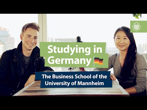 Studying in Germany: the Business School of the University of Mannheim