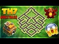 """BRAND NEW 2018 BASE - Clash Of Clans Town Hall 7 (TH7) Trophy/Champion Base-""""INSANE""""-COC Christmas"""