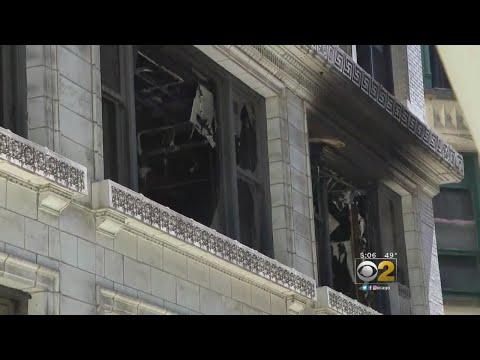 Wabash Blaze Destroys Multiple Floors