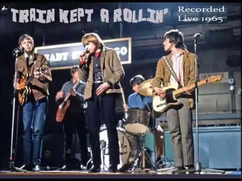 The Yardbirds - Train Kept A Rollin' (1965 Live)