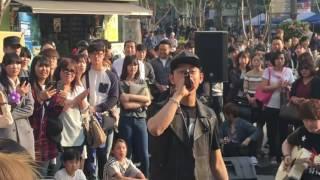 Wanna One Kang Daniel was found while B.A.P Daehyun was busking