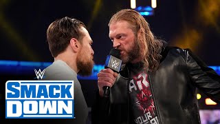 Edge confronts Daniel Bryan over WrestleMania demands: SmackDown, March 26, 2021