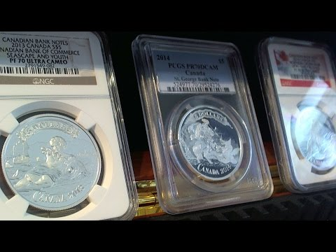 Canadian Silver Bank Note Series Coins 2013-2014 Victim #13 & 12