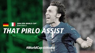 That Pirlo Assist Germany v Italy Germany 2006