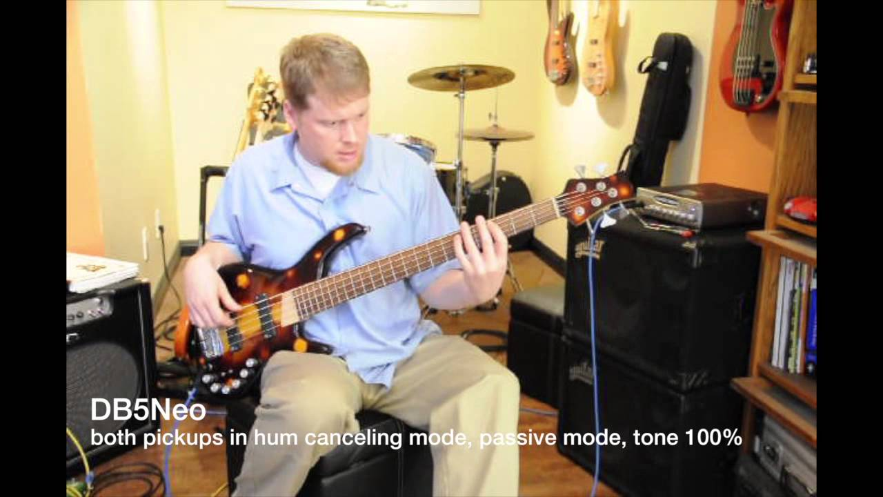 Nordstrand Pickups Dual Blade 5 Neo Demo - YouTube