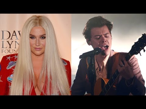Kesha Gets FLUSTERED & Talks About Harry Styles Crush